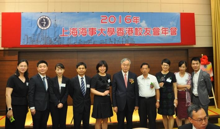 香港各界社会团体代表合影
