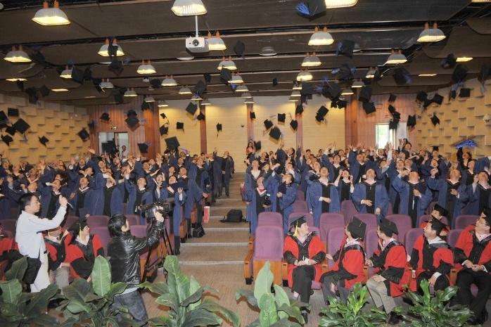 2010年MBA/EMBA毕业抛帽