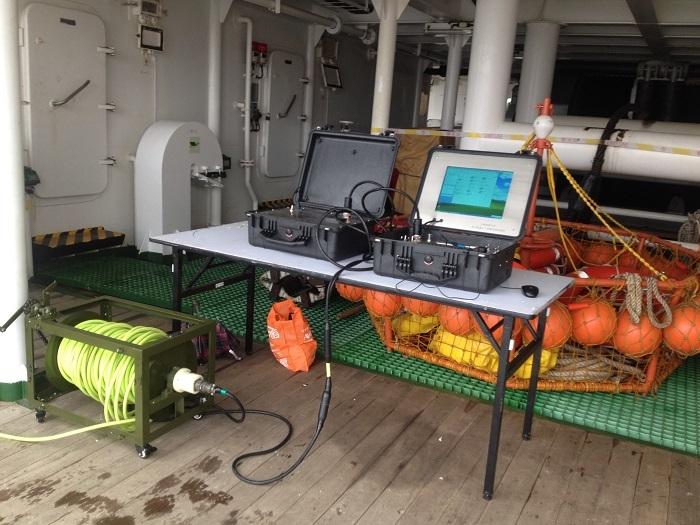 水下机器人操控系统