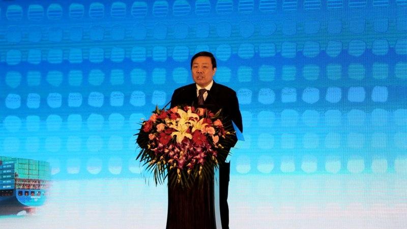 中国科协党组书记、常务副主席、书记处第一书记尚勇主持大会