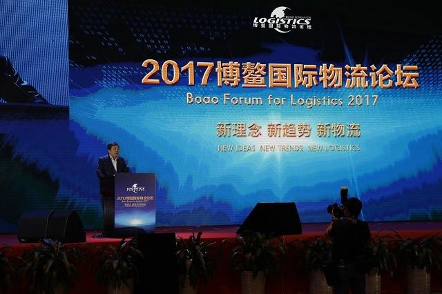交通运输部原副部长、中国快递协会会长高宏峰致辞