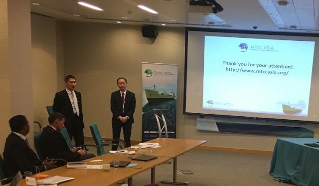 金永兴书记、阮巍院长在海事技术研讨和能力建设会议上作MTCC-Asia工作报告