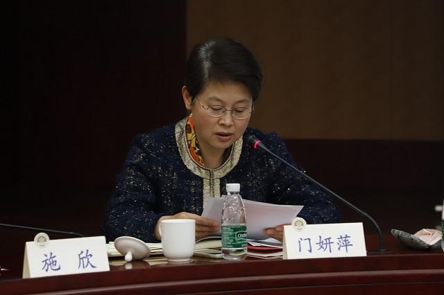 门妍萍副书记布置学校学习贯彻落实党的十九大精神工作方案