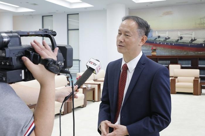 金永兴书记接受央视采访