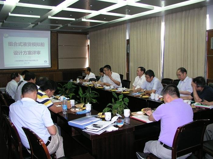 2012年8月,学校召开设计方案评审会