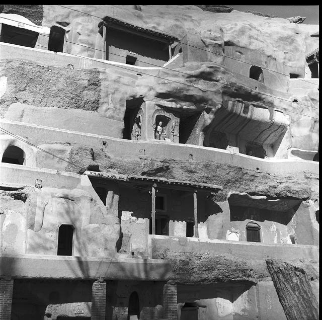 莫高窟第285窟与上下窟的关系-西魏-摄录部-1956年