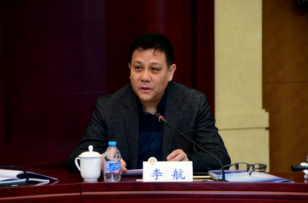 国家海洋局宣教中心副主任李航讲话