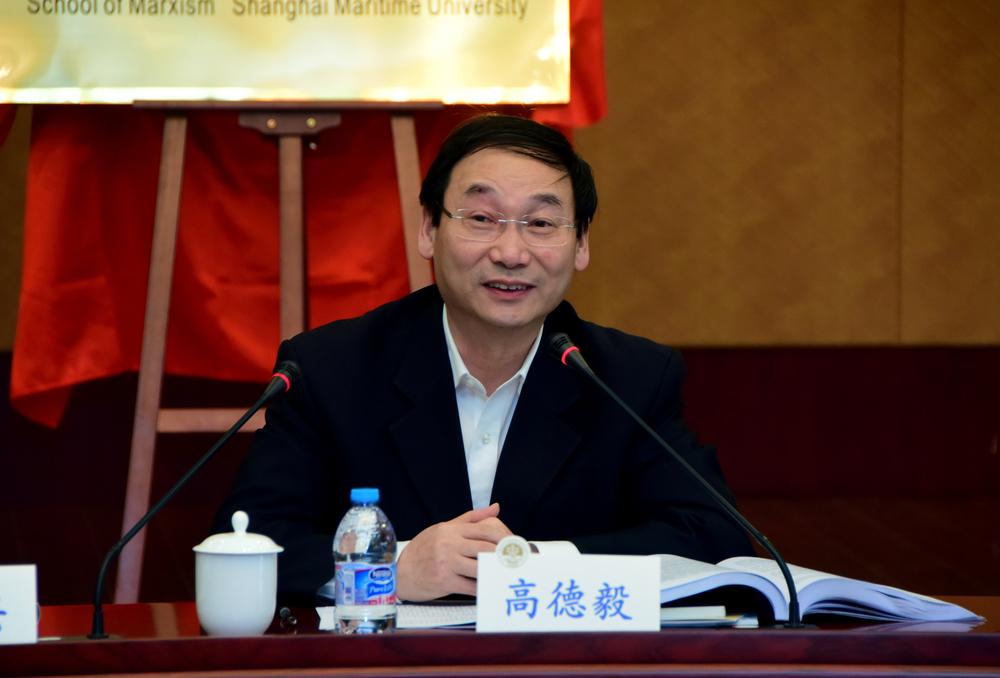 上海市教卫党委副书记、市教委副主任高德毅讲话