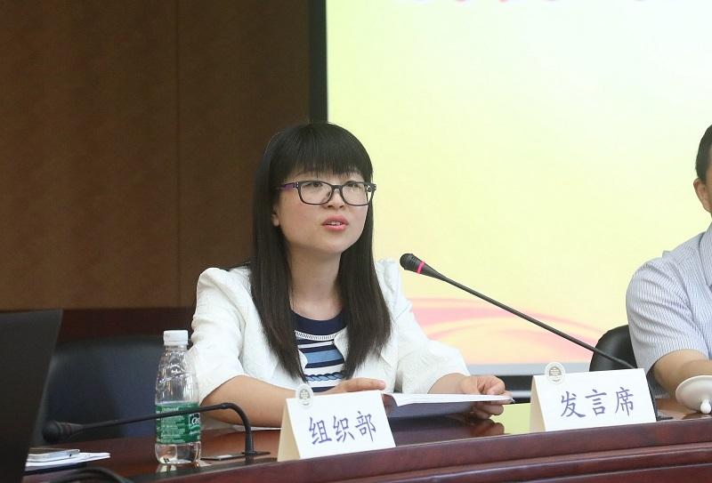 第十一次党代会代表、物流工程学院王天真老师发言