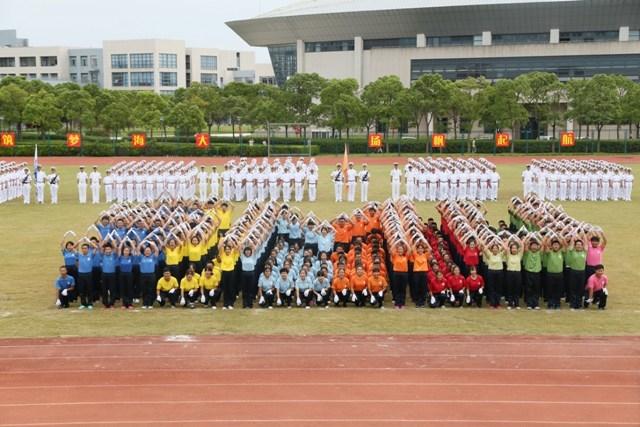 学生团体表演