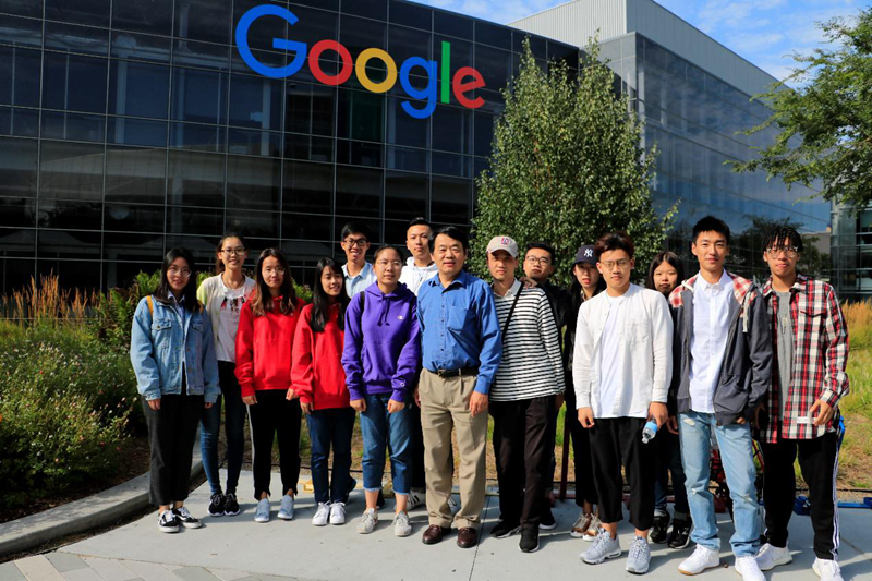 参观Google(美国加州大学洛杉矶分校暑期学习项目)