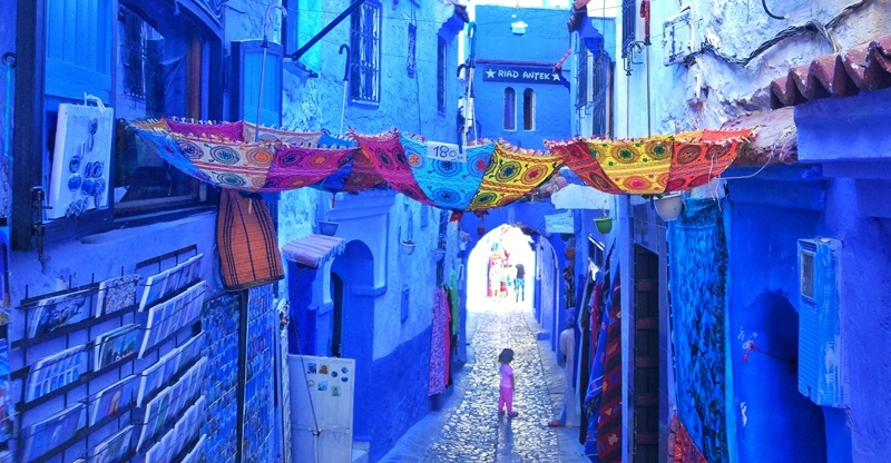 lost in Chefchaouen-何彦陶
