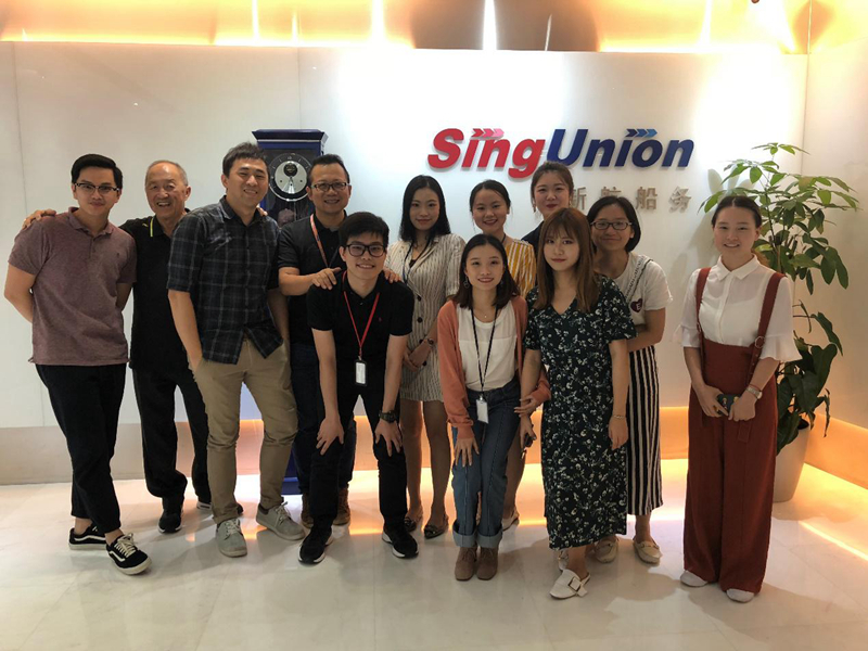 新加坡新航船务公司暑期实习项目