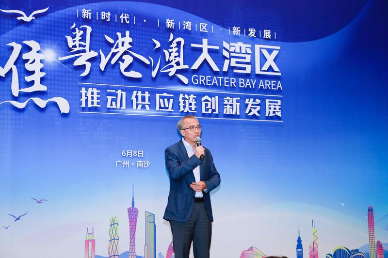 中共广州市委常委、南沙区委书记蔡朝林致辞