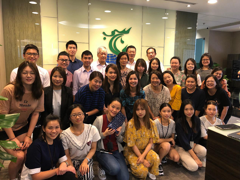 新加坡亿海国际控股公司暑期实习项目