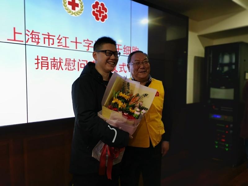 伯伯瞿玉龙是上海市第51例造血干细胞捐献者