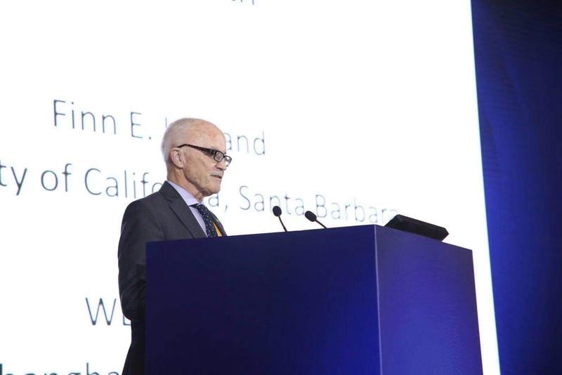 2004年诺贝尔经济学奖获得者芬恩·基德兰德发表演讲