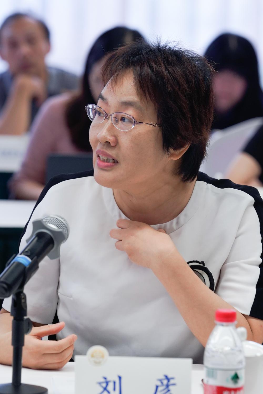 高文彬教授的学生代表、上海市刘彦律师事务所主任刘彦发言