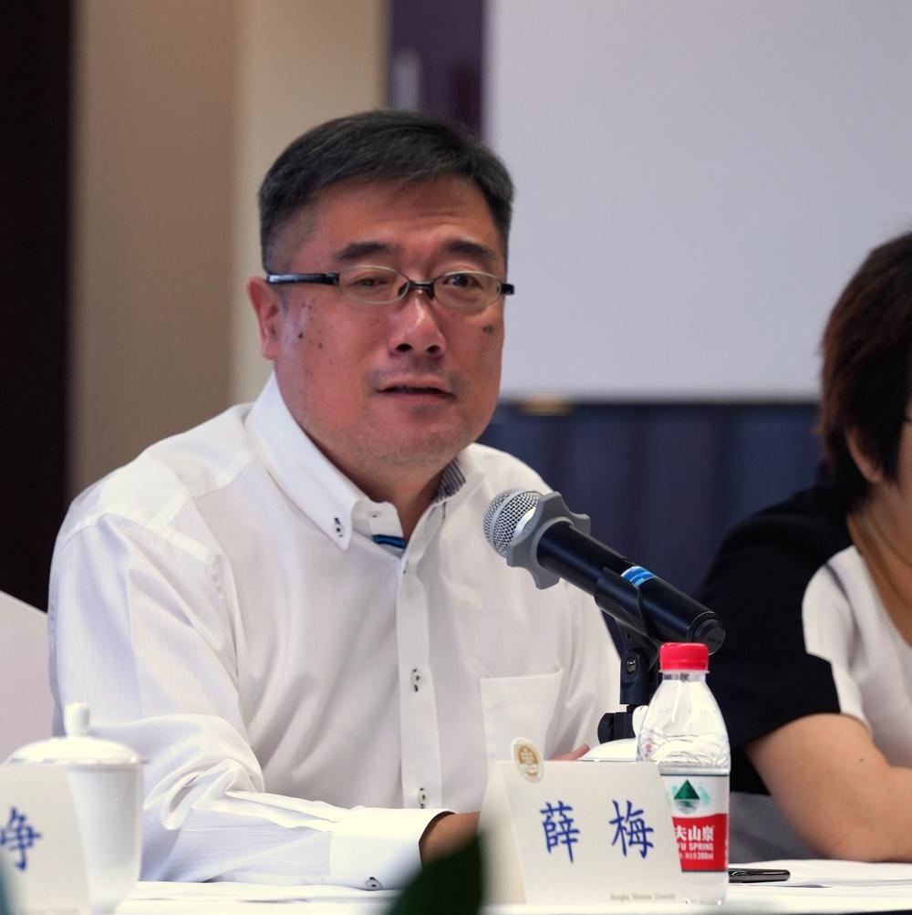 高文彬教授的学生代表、上海市四维乐马律师事务所高级合伙人周琦发言