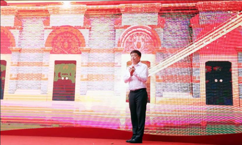 """陈群副市长启动""""新时代答卷人——上海学生爱国主义教育知识竞赛"""""""