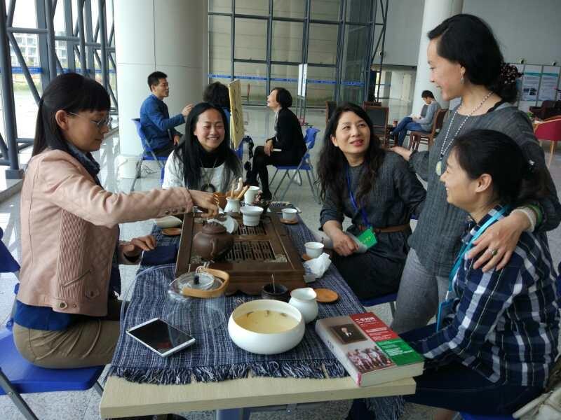 教工茶协会茶艺展示