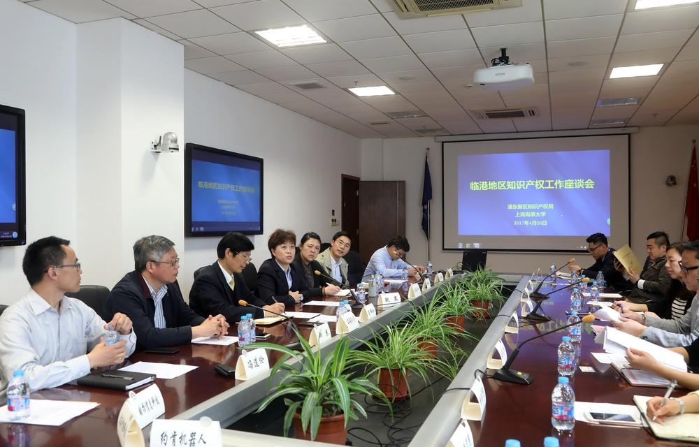 临港地区知识产权工作座谈会