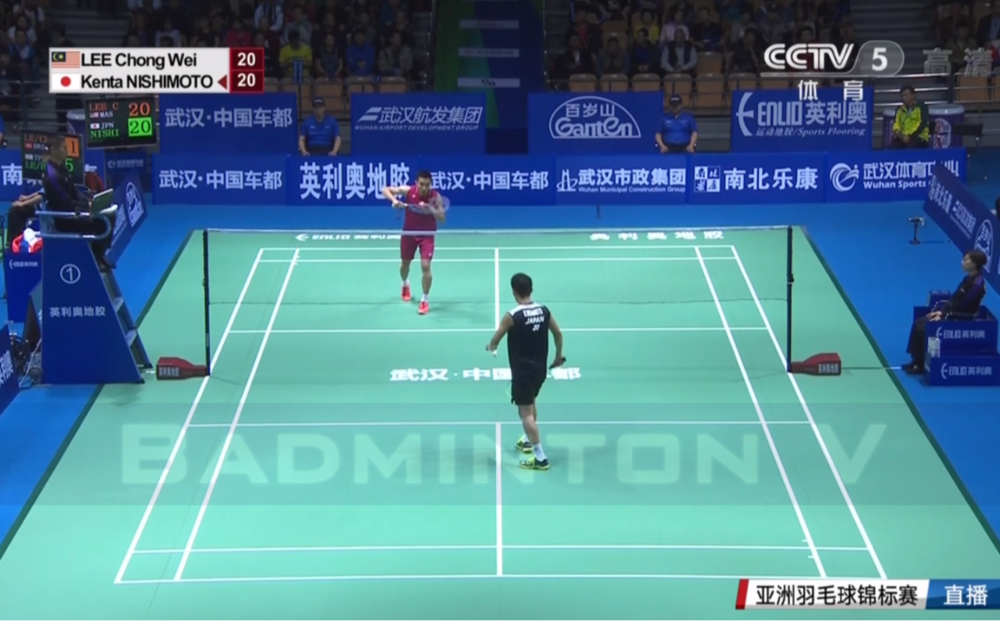 李宗伟(马来西亚)vs西本拳泰(日本)