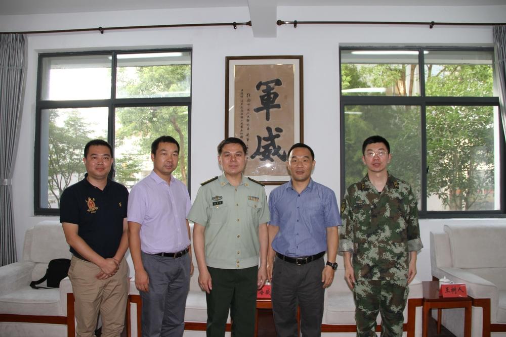 慰问上海武警第九支队