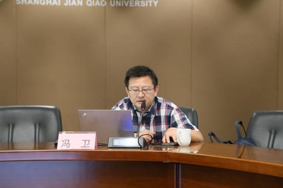 """上海市互联网新闻研究中心主任冯卫讲授""""新媒体时代下的舆论引导和应对"""""""