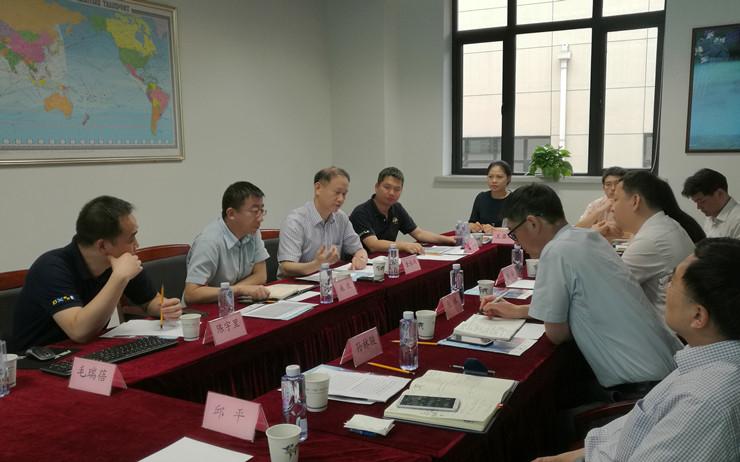 金永兴书记对谢峰主任一行的到来表示欢迎