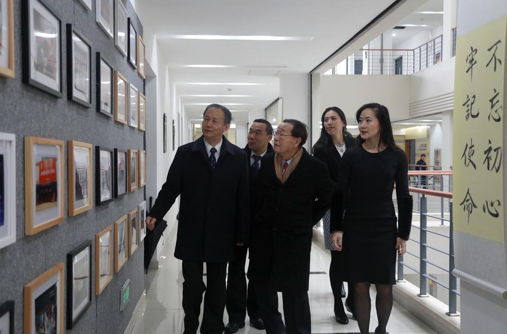 参观木兰纪念馆