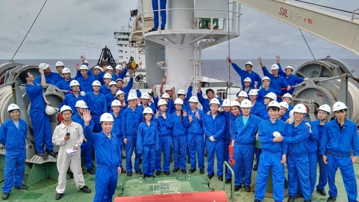航海实习学生