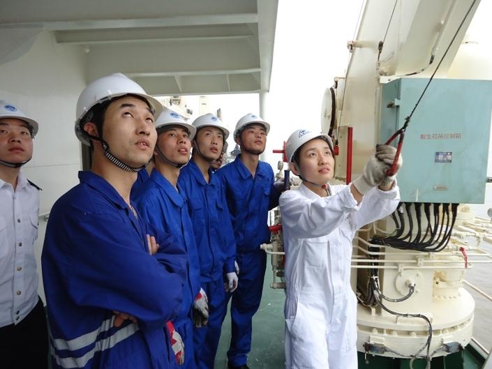 航海实习中的现场教学