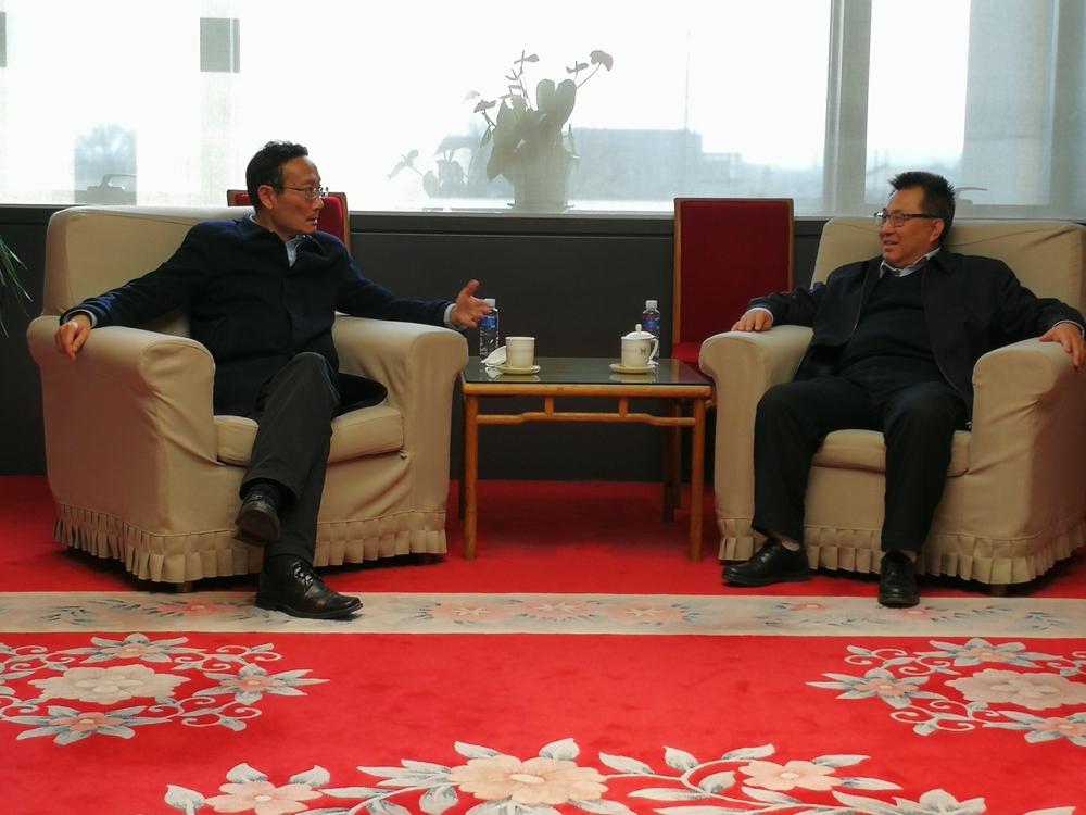 黄有方校长拜访中国国家博物馆王春法馆长