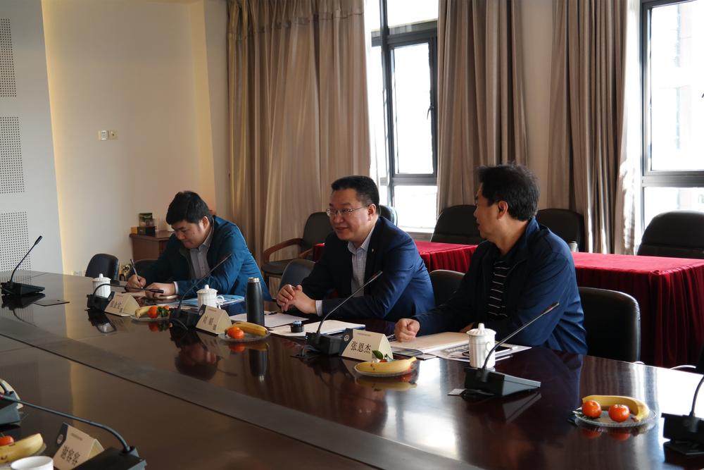 交通运输部管理干部学院副院长刘韬一行来我校调研