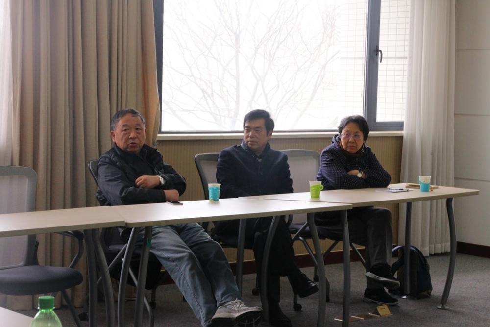 宗蓓华、沈禹均和赵伟建老师与交通运输学院学生座谈