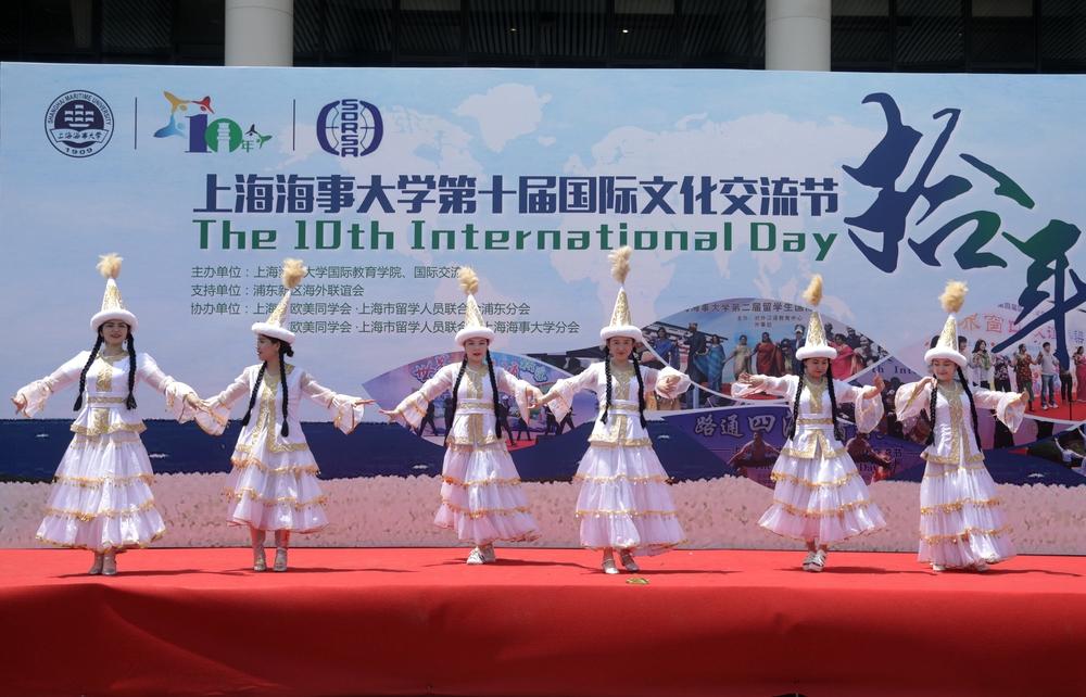 哈萨克斯坦民族舞蹈表演
