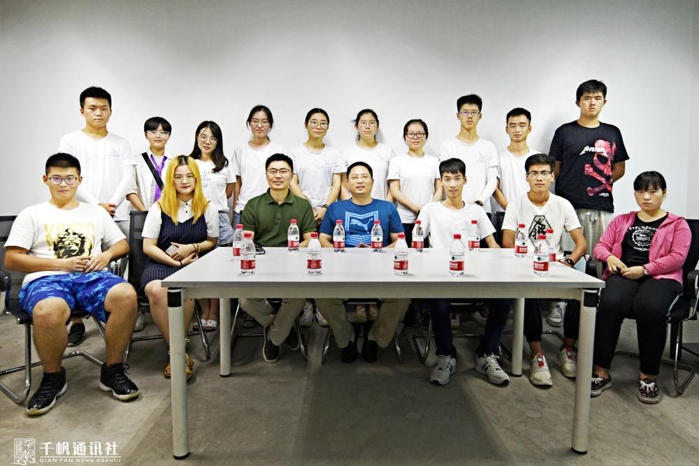 队员与重庆邮电大学党委宣传部相关人员座谈交流
