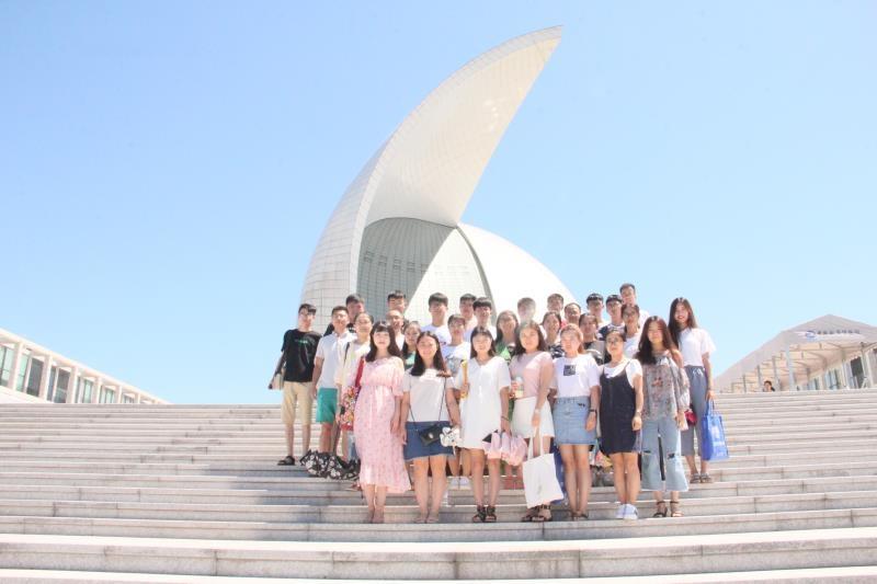 学员们参观航海博物馆