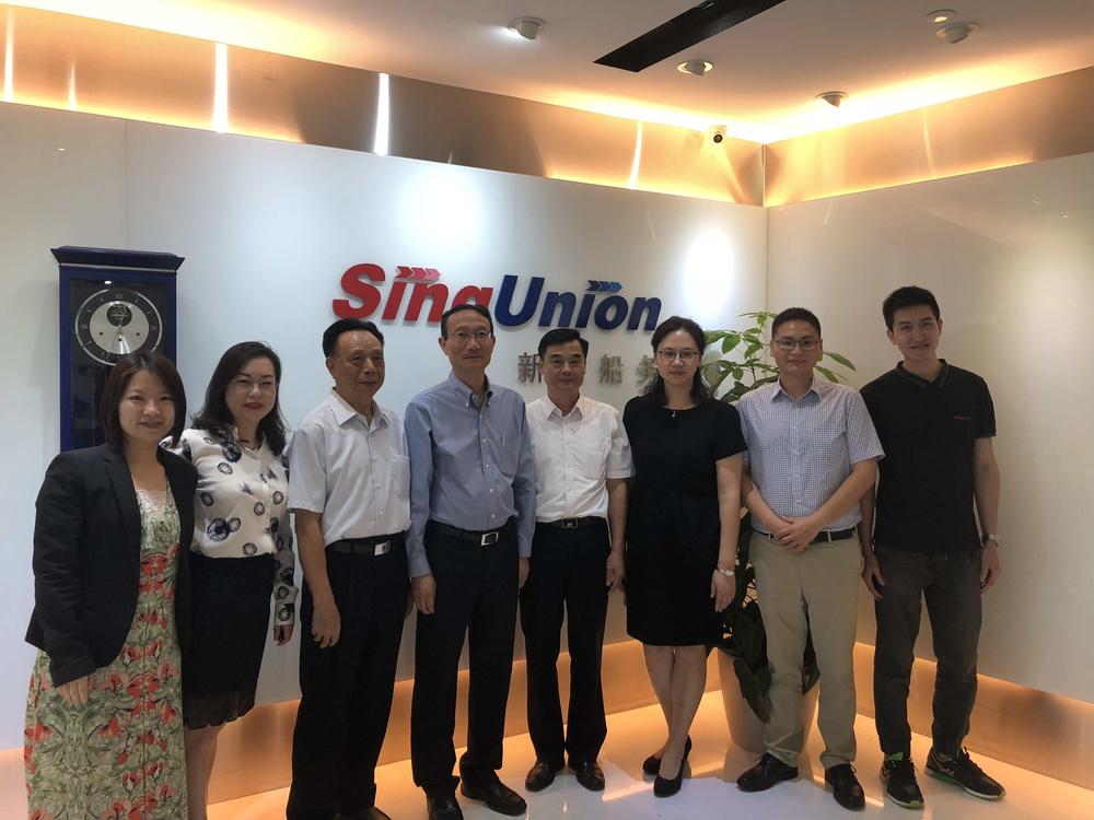 走访新加坡新航船务有限公司
