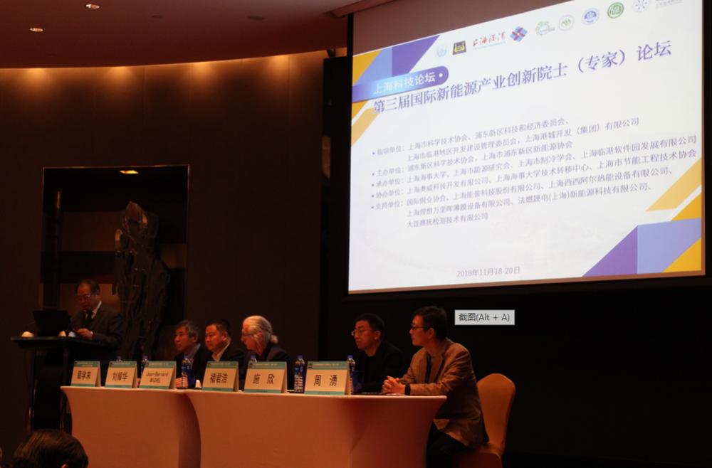 我校承办第三届国际新能源产业创新院士(专家)论坛