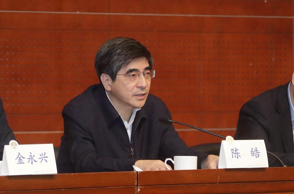 上海市委组织部副部长陈皓讲话