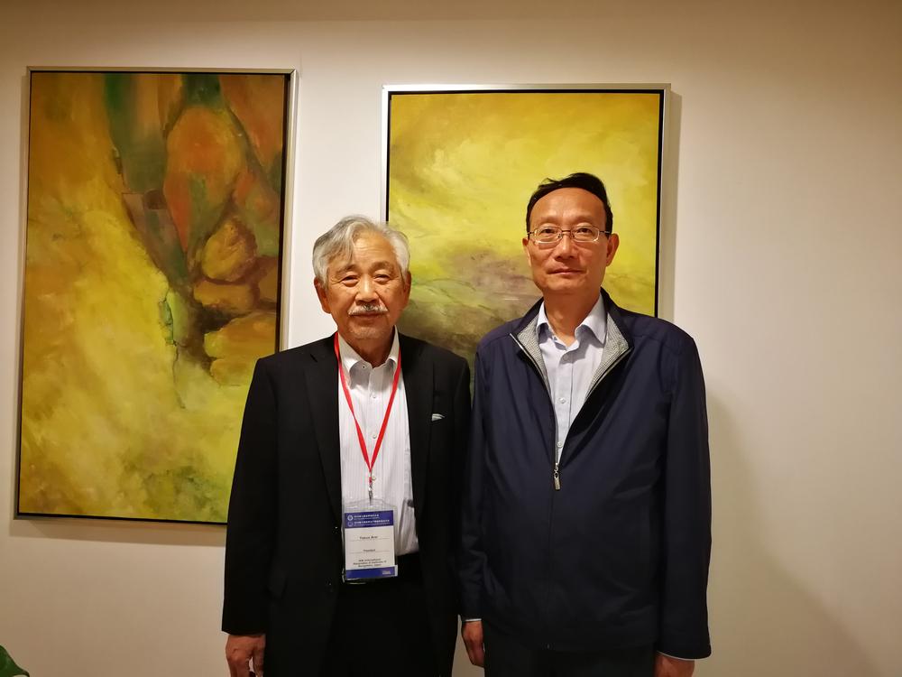 黄有方校长会见国际航联主席新井康夫先生