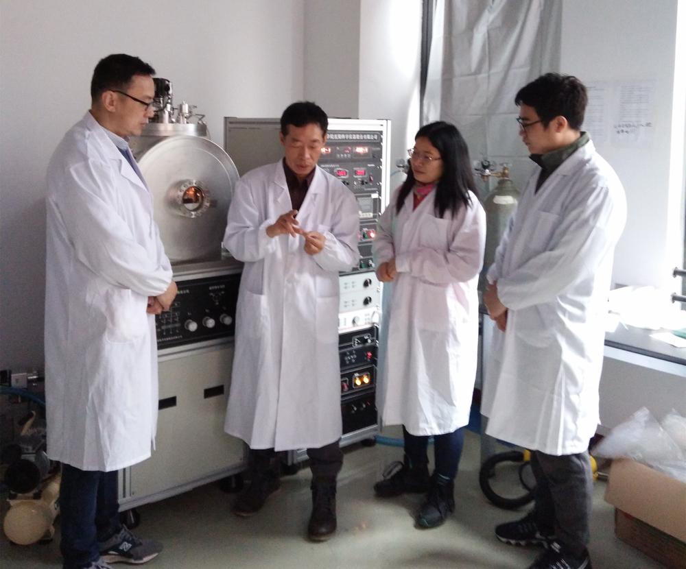 范润华教授项目组部分成员