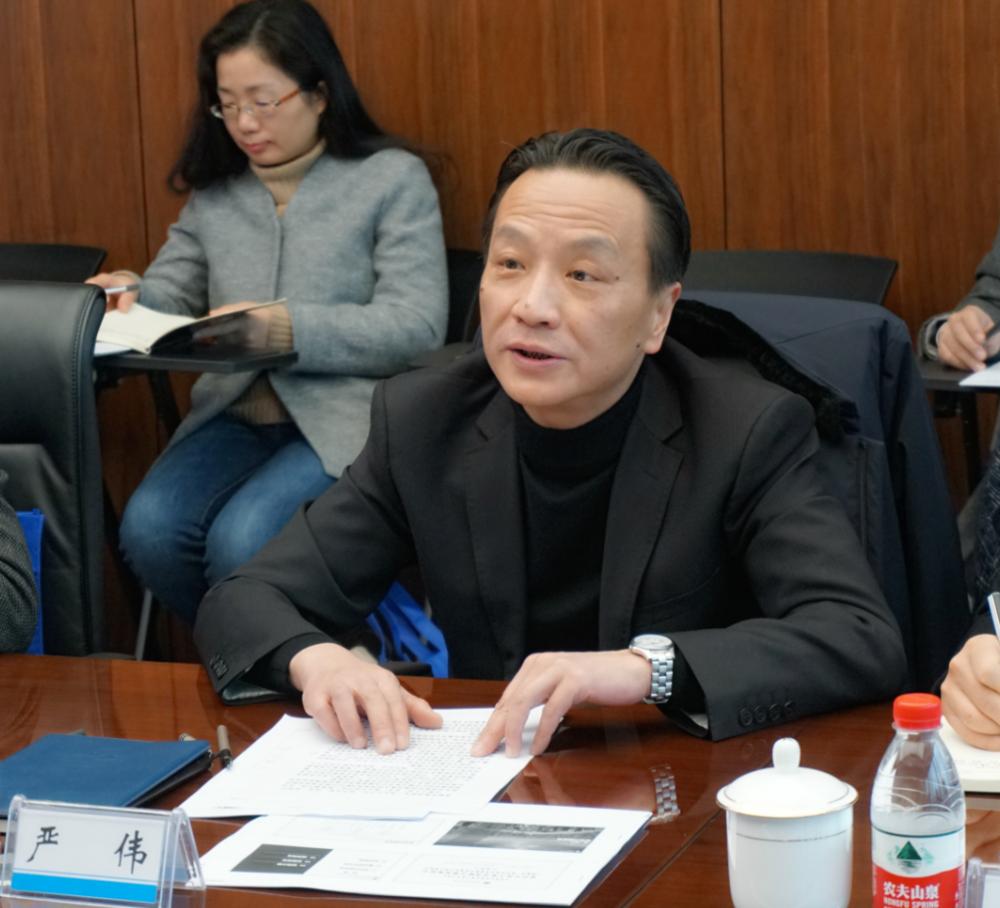 上海海事大学副校长严伟致辞