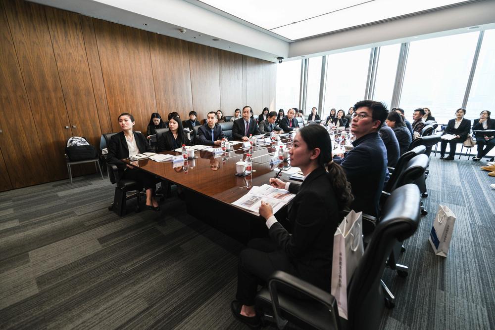 中国船东互保协会合规与法务总监贾鹏介绍协会的基本情况