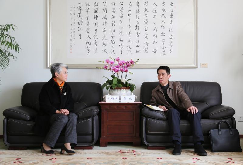 上海市浦东新区建平临港小学校长一行访问我校