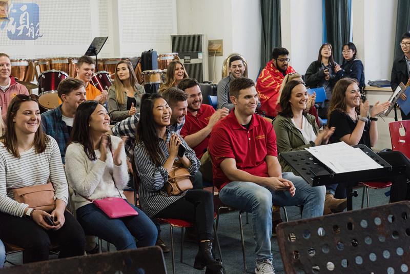 我校与美国爱荷华州立大学举行音乐交流会