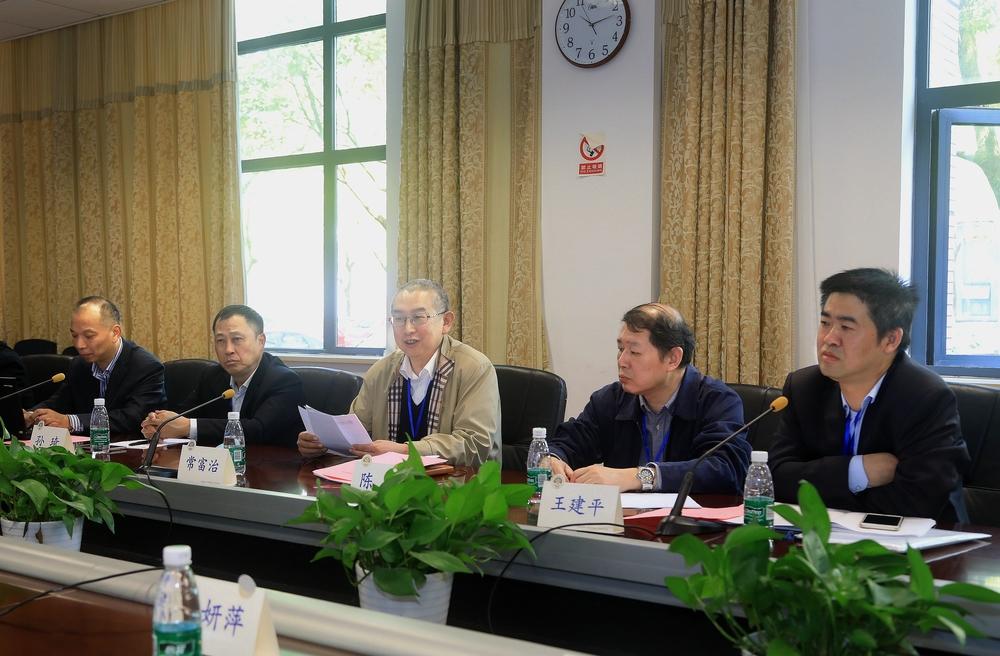 审核组组长、上海海事局巡视员常富治通报审核情况