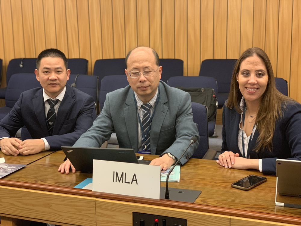 IMLA部分代表团合影